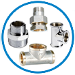 CP brass sanitary plumbing fittings
